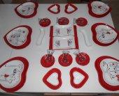 Keramika Peri Masalı Kahvaltı Takımı