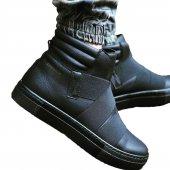Chekich Erkek Günlük Spor Kışlık Bot Ayakkabı Siyah