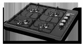 Set Üstü Ocak Kumtel Luxell Ko 420 Siyah Set Üstü Ocak Lpg Tüplü Model