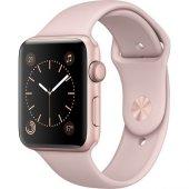 Apple Watch Seri 2 38mm Roze Altın Rengi Alüminyum Kasa Ve Kum Pe