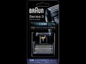 Braun 3 Serisi Tıraş Makinesi Yedek Başlığı Folyo Ve Kesici Bıçak