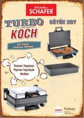 Turbo Koch Büyük Boy Lahmacun Makinesi (Tepsi Hediye) 4851
