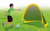 Futbol Kalesi Top Ve Pompa Hediyeli Katlanabilir Özel Tasarım