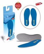 Sanus 100mdl Mavi Memory Foam Hafızalı Ayakkabı İç Tabanı