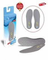 Sanus100mdl Gri Memory Foam Hafızalı Ayakkabı İç Tabanı