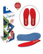 Sanus M300 Kırmızı Memory Foam Hafızalı Ayakkabı İç Tabanı