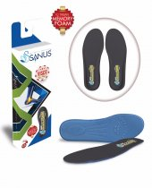 Sanus M300 Siyah Memory Foam Hafızalı Ayakkabı İç Tabanı