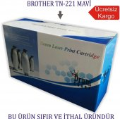 Brother Tn 221 242 251 261 Mavi Muadil Toner