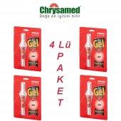 Chrysamed Fibron Gel 5gr (Karınca Hamamböceği İlacı) 4 Lü Paket
