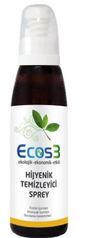 Ecos3 Hijyenik Temizleyici Sprey 125 Ml