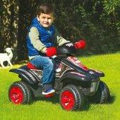 Dolu Pedallı Atv 8056 Dört Tekerlekli Seleli Pedallı Atv Araba Oyuncak Lisanslı