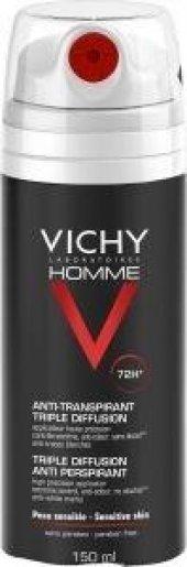 Vichy Homme (Erkek) Aşırı Terlemeye Karşı Deodorant 150 Ml