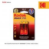 Kodak Max Alkalin Kalem Pil 2 Adet