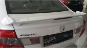 Honda Civic 2012 2015 Fb7 Işıklı Spoiler Beyaz Renk