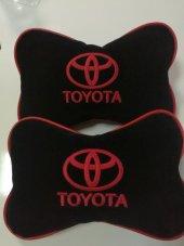 Toyota Yazılı Yastık Boyun Yastığı 2 Adet