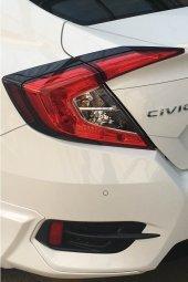 Honda Civic Arka Stop Kaplaması Siyah