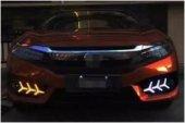 Honda Civic 2016 2019 Led Gunduz Sis Farı Takımı Yıldız Model