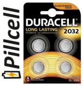 Duracell Cr 2032 Lithium 3 V Pil 4&#039 Lü