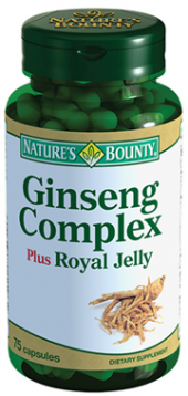Natures Bounty Ginseng Complex Plus Royal Jelly Skt 06 2020