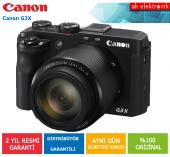 Canon G3x Dijital Fotoğraf Makinesi (Canon Eurasia Garantili)