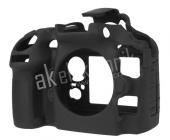 Easycover Nikon D810 İçin Silikon Kılıf Siyah