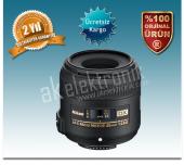Nikon 40mm F 2.8g Af S Dx Mikro Lens (Karfo Karacasulu Garantili)