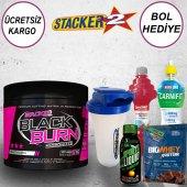 Stacker2 Black Burn Micronized 300 Gr