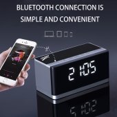 Musky Dy27 Bluetooth Hoparlör, Masaüstü Çalar Saat & Multimedya