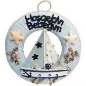 Beysüs Kapı Süsü Denizci Çelenk Yelkenli