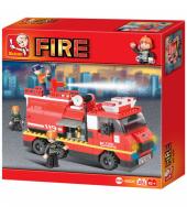 Sluban Lego Fire Alarm İtfaiye Araç Seti 281 Parça B0220