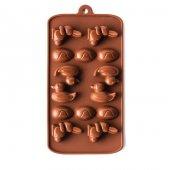 Zheng De Silikon Çikolata Kalıbı Hayvanlı