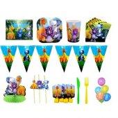 Dinozor Doğum Günü Parti Seti 8 Kişilik Lüx