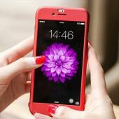 Iphone 8 Plus 360 Derece Kılıf Full Koruma + Kırılmaz Camlı