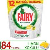 Fairy Hepsi Bir Arada Bulaşık Makinası Tableti 84 Adet