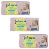 Johnsons Baby Islak Havlu Sensitive 56x3 168li