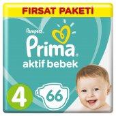 Prima Bebek Bezi 4 Beden Maxi Fırsat Paketi 66 Adet