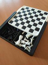 3d Baskı Mini Boy Satranç Takımı Özel Hediye