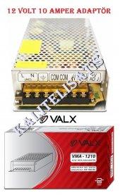12 Volt 10 Amper Smps Metal Kasa Power Kamera Led Adaptör