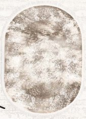 Brillant Latex Halı İpek Oval 130x190 Hle11324.803 (Püsküllü)