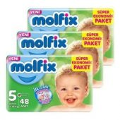 Molfix Dev Ekonomi 5 Beden 11 18 Kg 48 Li 3 Paket