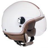Açık Motosiklet Kaskı Cgm 109v Santa Monıca Beyaz Renk