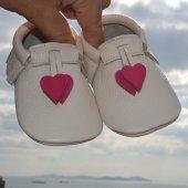 Kalpli Makosen Bebek Ayakkabı Bej Cv 50