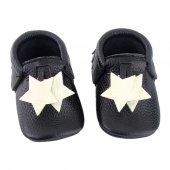 Yıldız Makosen Bebek Ayakkabı Siyah Cv 210