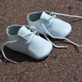 Bağlı Makosen Bebek Ayakkabı Beyaz Cv 339