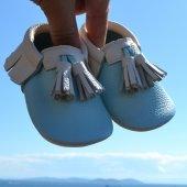 Corcik Makosen Bebek Ayakkabı Mint Bej Cv 365