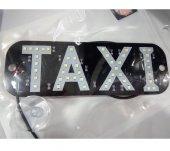 Iç Ortam Taxi Levhası Beyaz Led Işıklı
