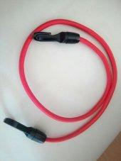 Kırmızı Bagaj Lastiği 1 Adet Plastik Kancalı