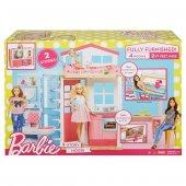 Barbie Portatif Evi Oyun Seti Dvv47