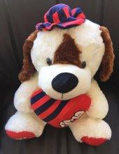 şapkalı Kalpli Köpek 50 Cm