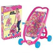 Barbie Oyuncak Kalpli Puset Dede 03036